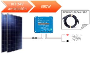 KIT Solar Ampliación 12V