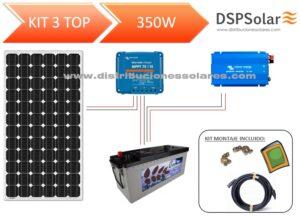 Kit Solar Fotovoltaico 3 TOP 350W