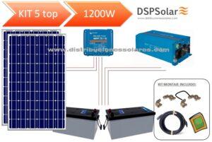 Kits Solares Autoconsumo sin baterias